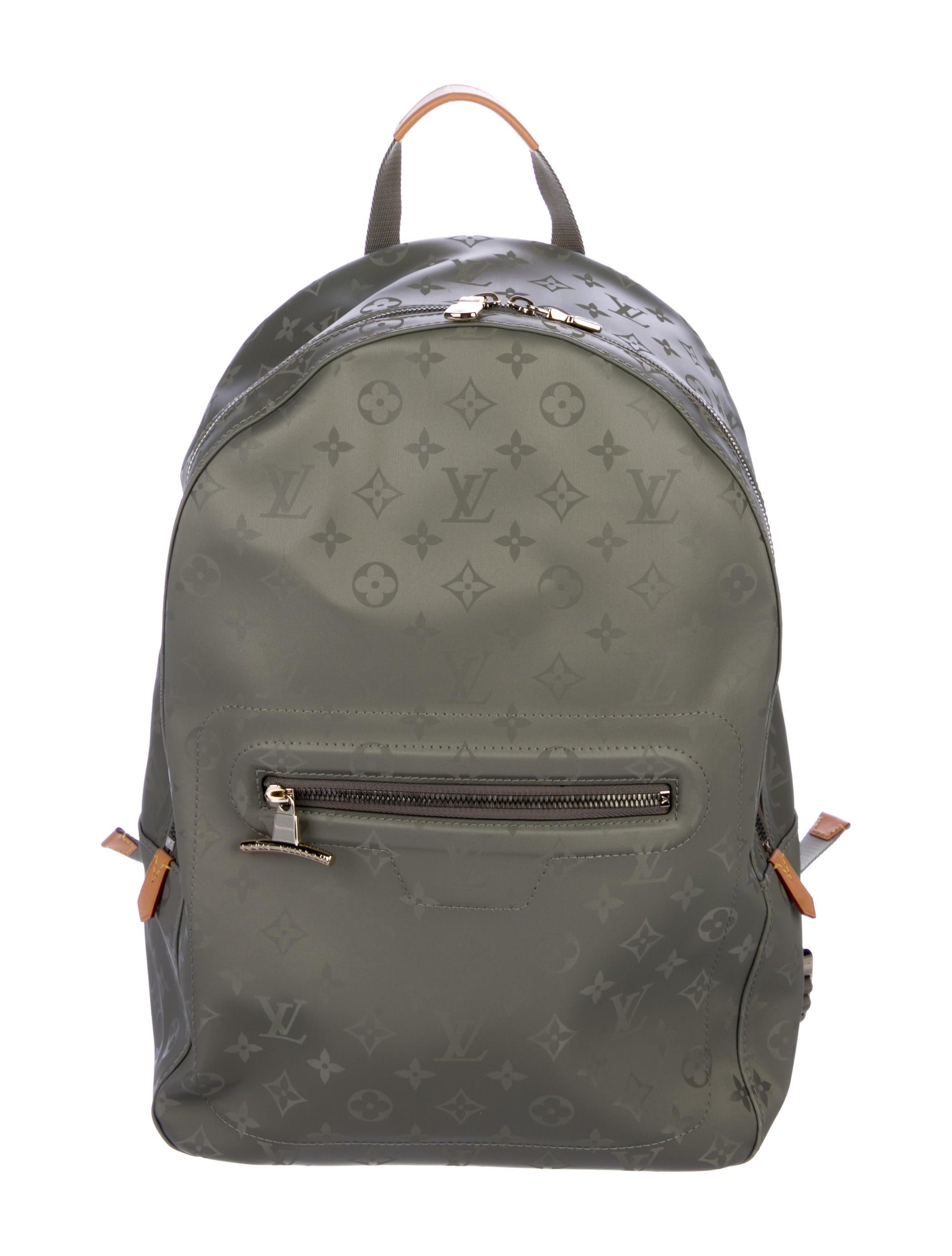 e2d02a3b5fe Louis Vuitton Monogram Titanium Backpack PM - Bags - LOU198057