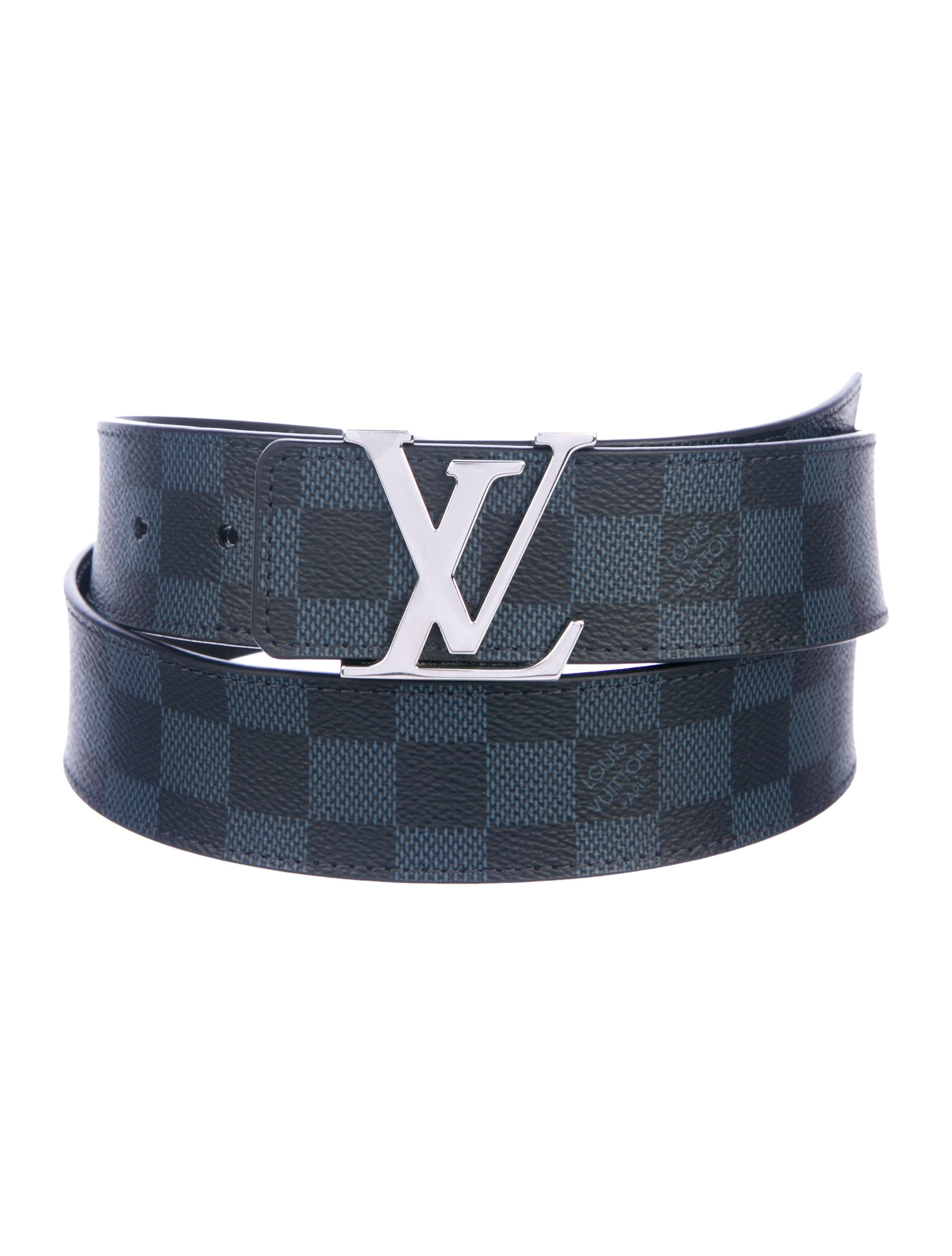 6b3de313655a Louis Vuitton 2018 Damier Cobalt Initiales 40MM Belt - Accessories ...
