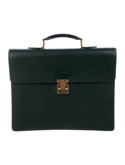 Louis Vuitton Taïga Moskova Briefcase brass