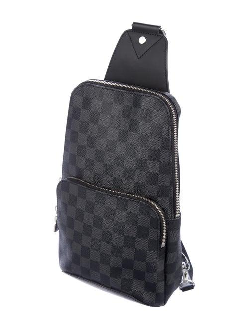 51416bc91 Louis Vuitton 2017 Damier Graphite Avenue Sling Bag - Bags ...