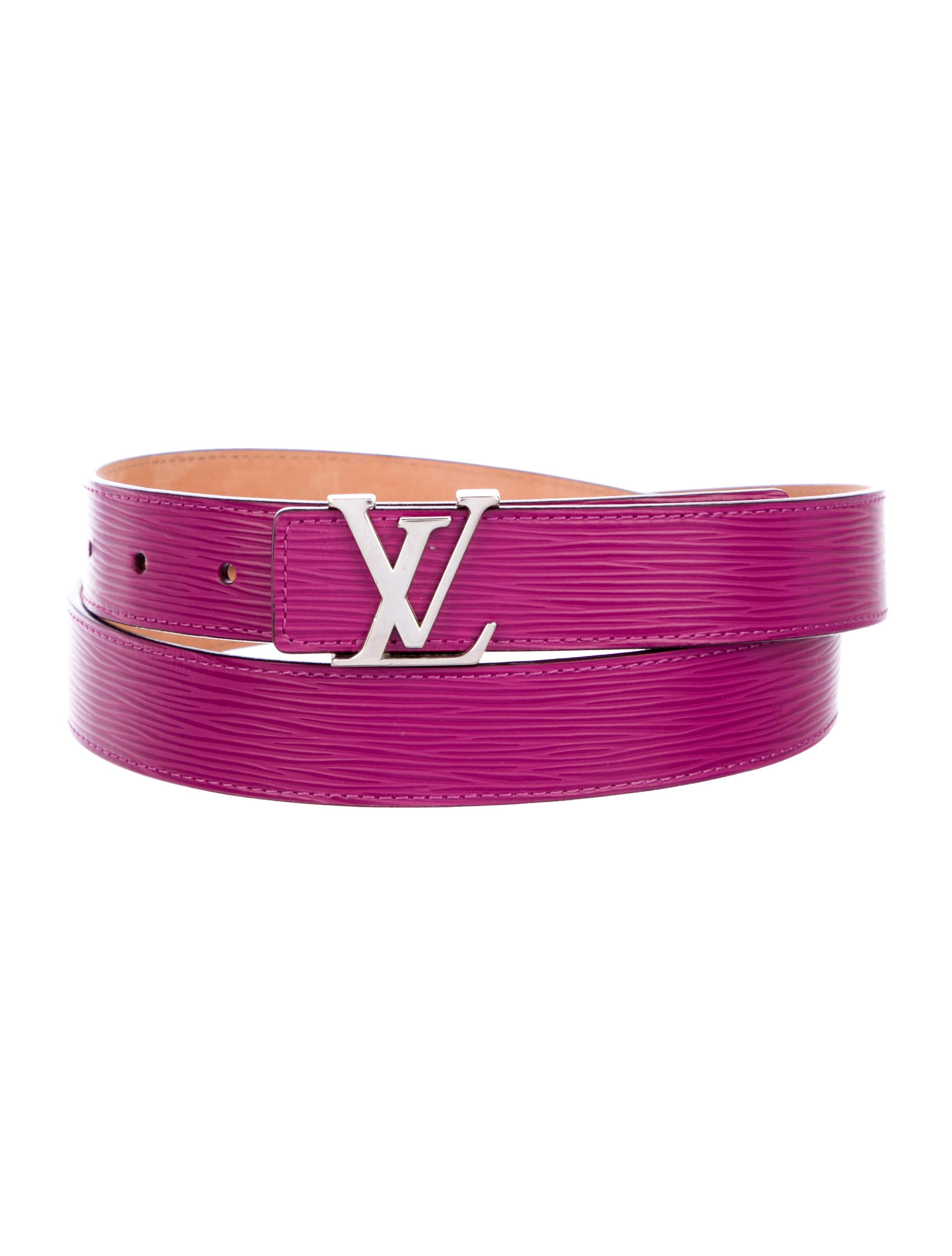 e853d77788f0 Louis Vuitton Epi Initiales 30MM Belt - Accessories - LOU206577 ...