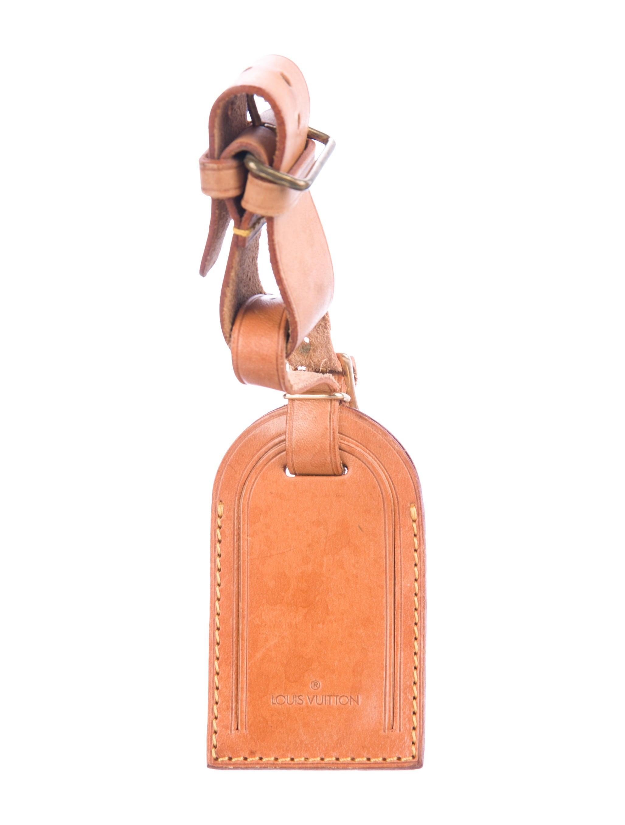 df1537c2fe Louis Vuitton Vachetta Luggage Tag - Accessories - LOU208572