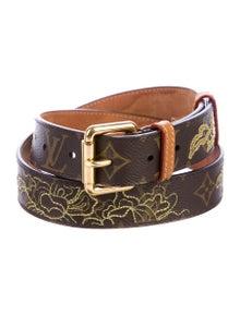 e26d0ab271f6 Louis Vuitton. Monogram Dentelle Belt