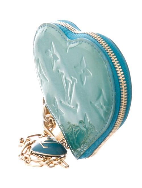 louis vuitton heart coin purse
