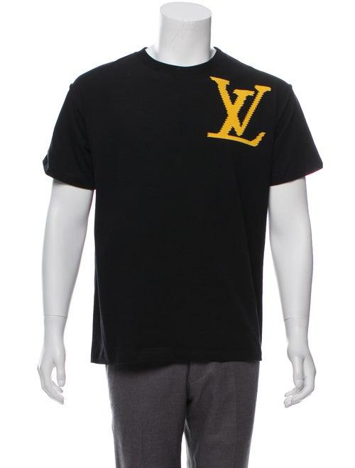 b2205b01 Louis Vuitton 2019 LV Brick Printed T-Shirt w/ Tags - Clothing ...
