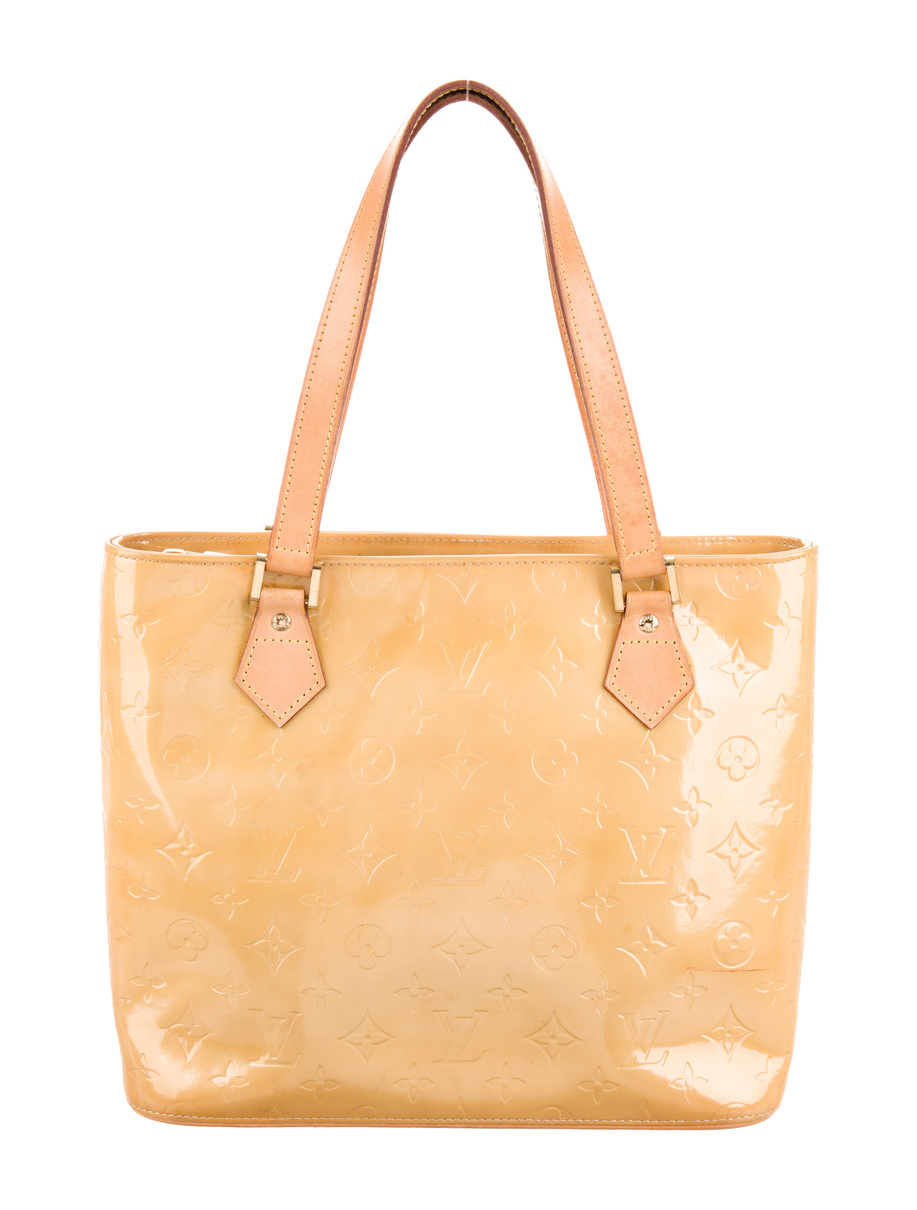 587d54c73 Louis Vuitton Vernis Houston Tote - Handbags - LOU213021 | The RealReal