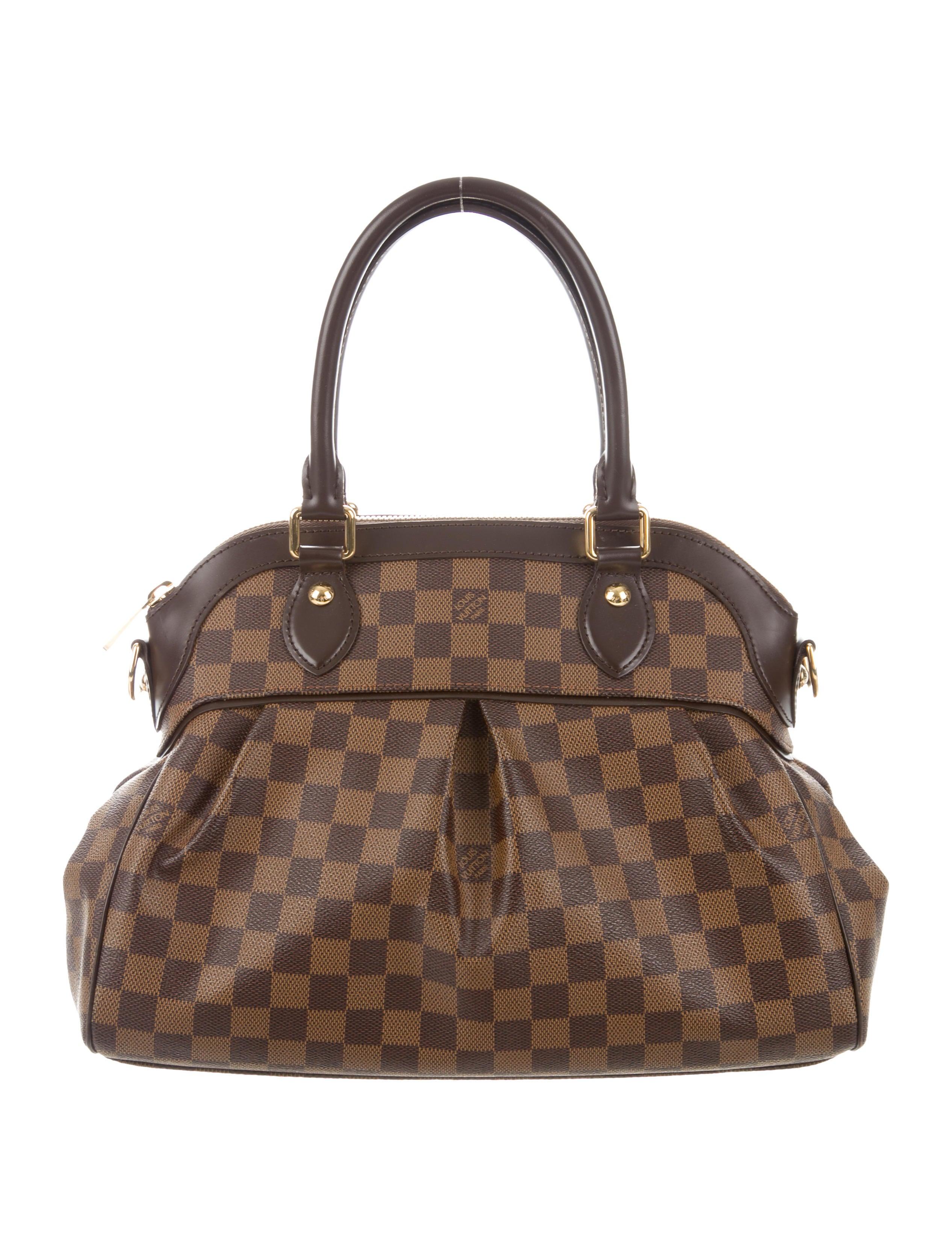 Louis Vuitton Damier Ebene Trevi GM - Handbags - LOU213581  e48ff292d39bd