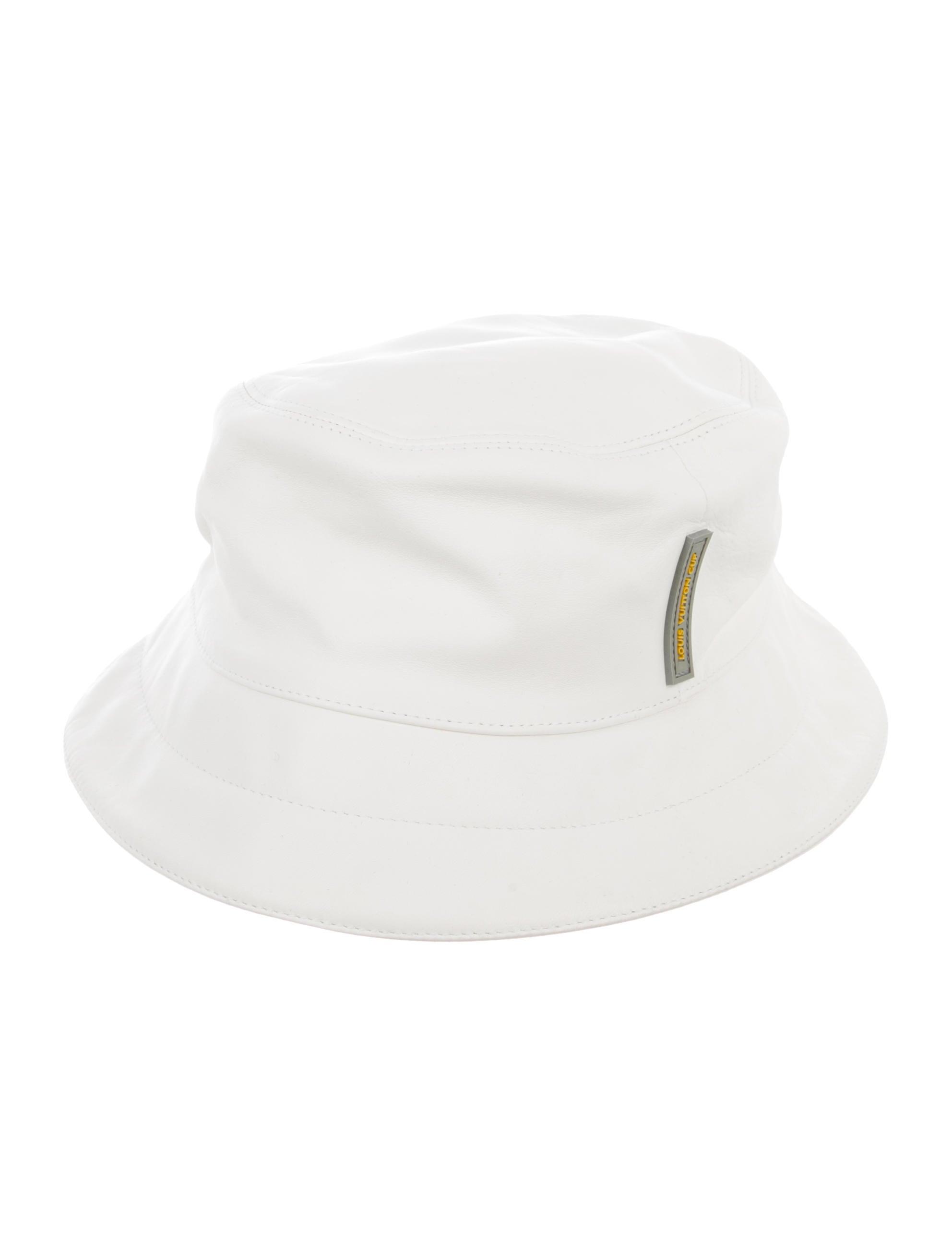 d8a2d07d47e Louis Vuitton America s Cup Leather Bucket Hat - Accessories ...