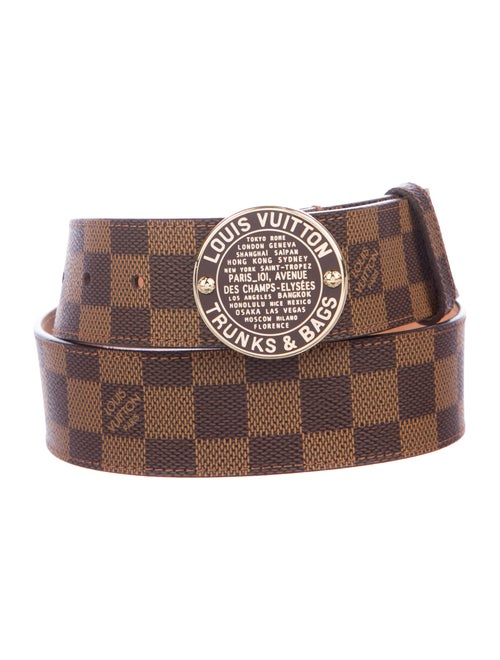 80b685806864 Louis Vuitton Damier Ebene Trunks   Bags Belt - Accessories ...