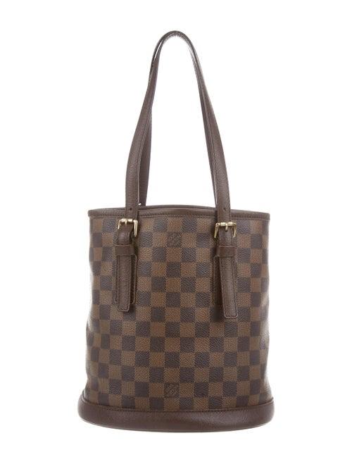 Louis Vuitton Damier Ebene Marais Bucket Bag - Handbags - LOU214495 ... 34dd74938ea98
