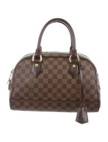 a189a666e575 Louis Vuitton. Damier Ebene Duomo Handle Bag