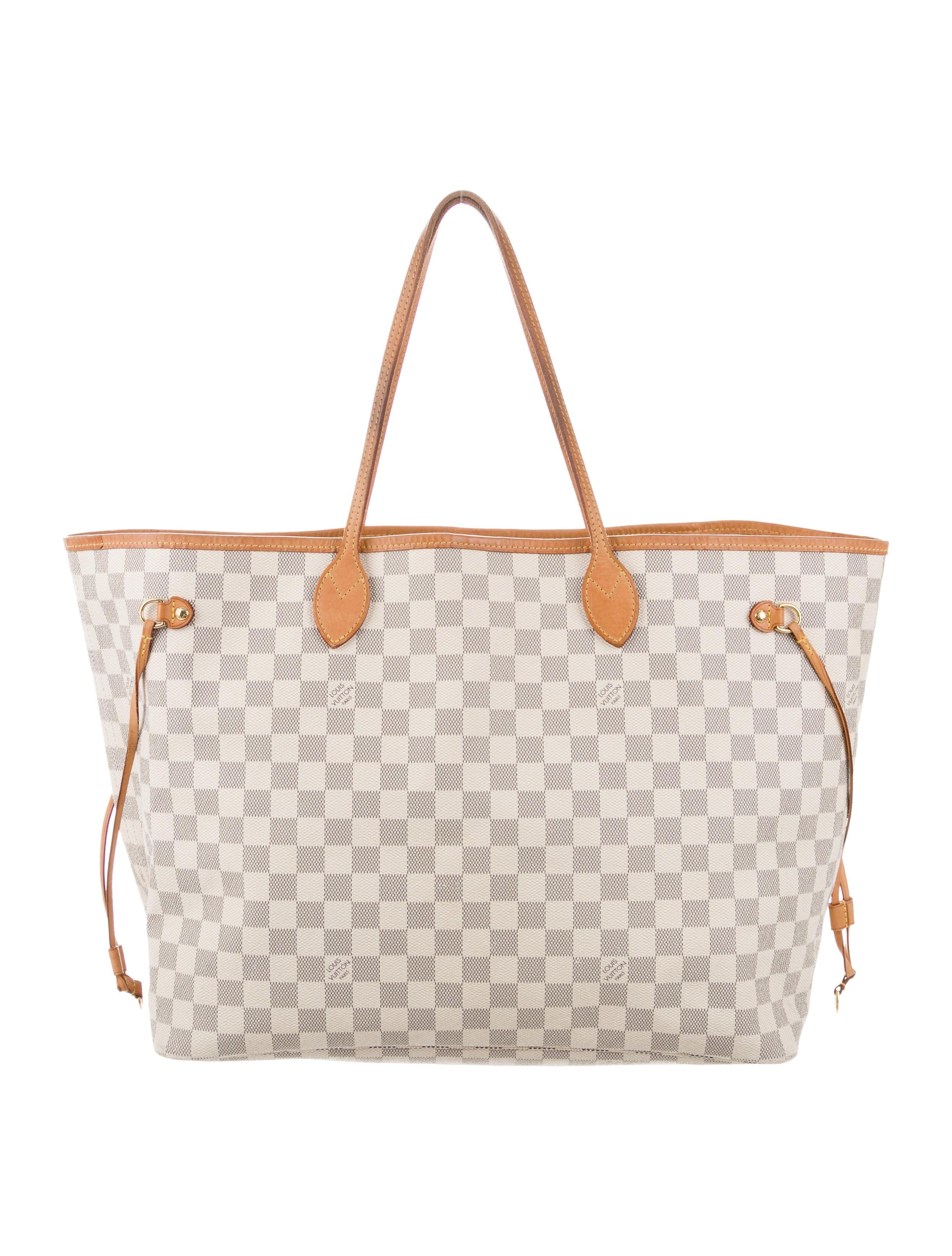 6d1a44a32557 Louis Vuitton Damier Azur Neverfull GM - Handbags - LOU214659