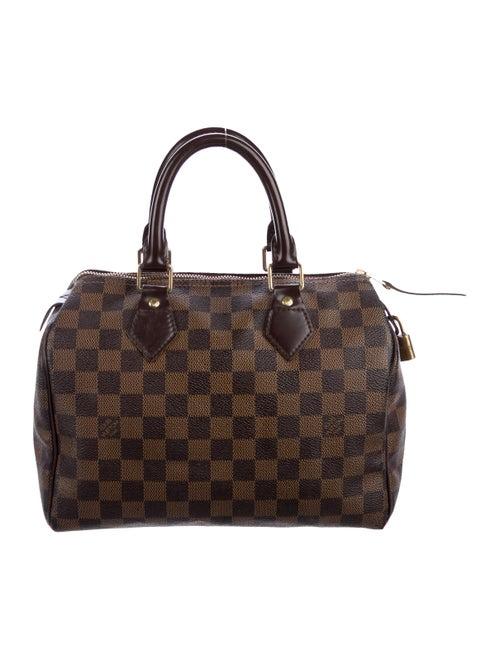 Louis Vuitton Damier Ebene Speedy 25 - Handbags - LOU214789  0bc4dcb0655c4