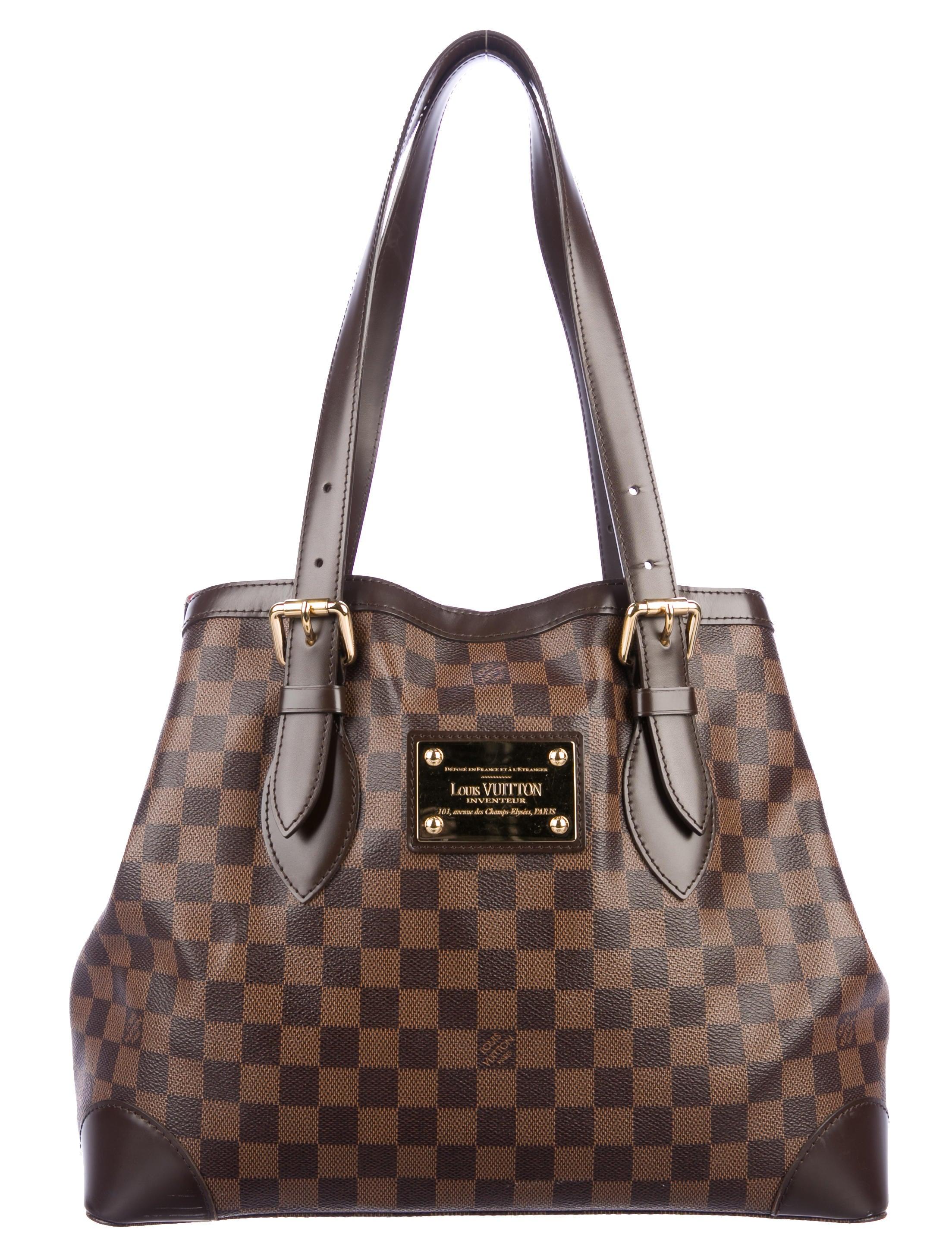 d36599d71172 Louis Vuitton Damier Ebene Hampstead MM - Handbags - LOU216255