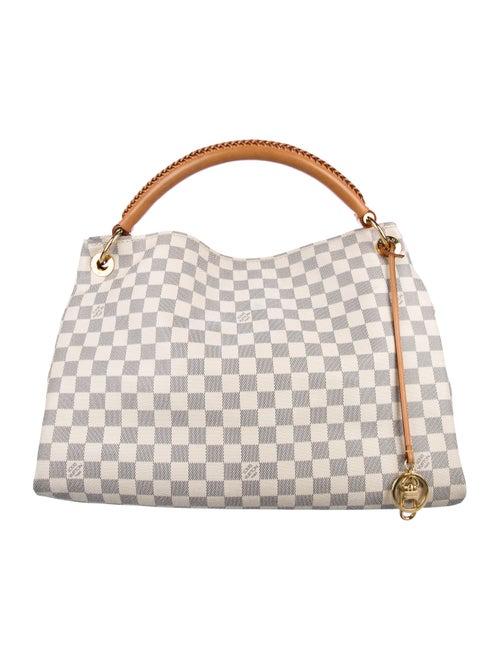 13c34aa8102e Louis Vuitton Damier Azur Artsy Mm Handbags Lou217956 The Realreal