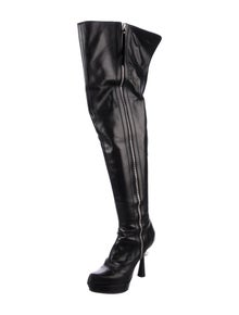 2560e5d5df1 Louis Vuitton. Leather Over-The-Knee Boots