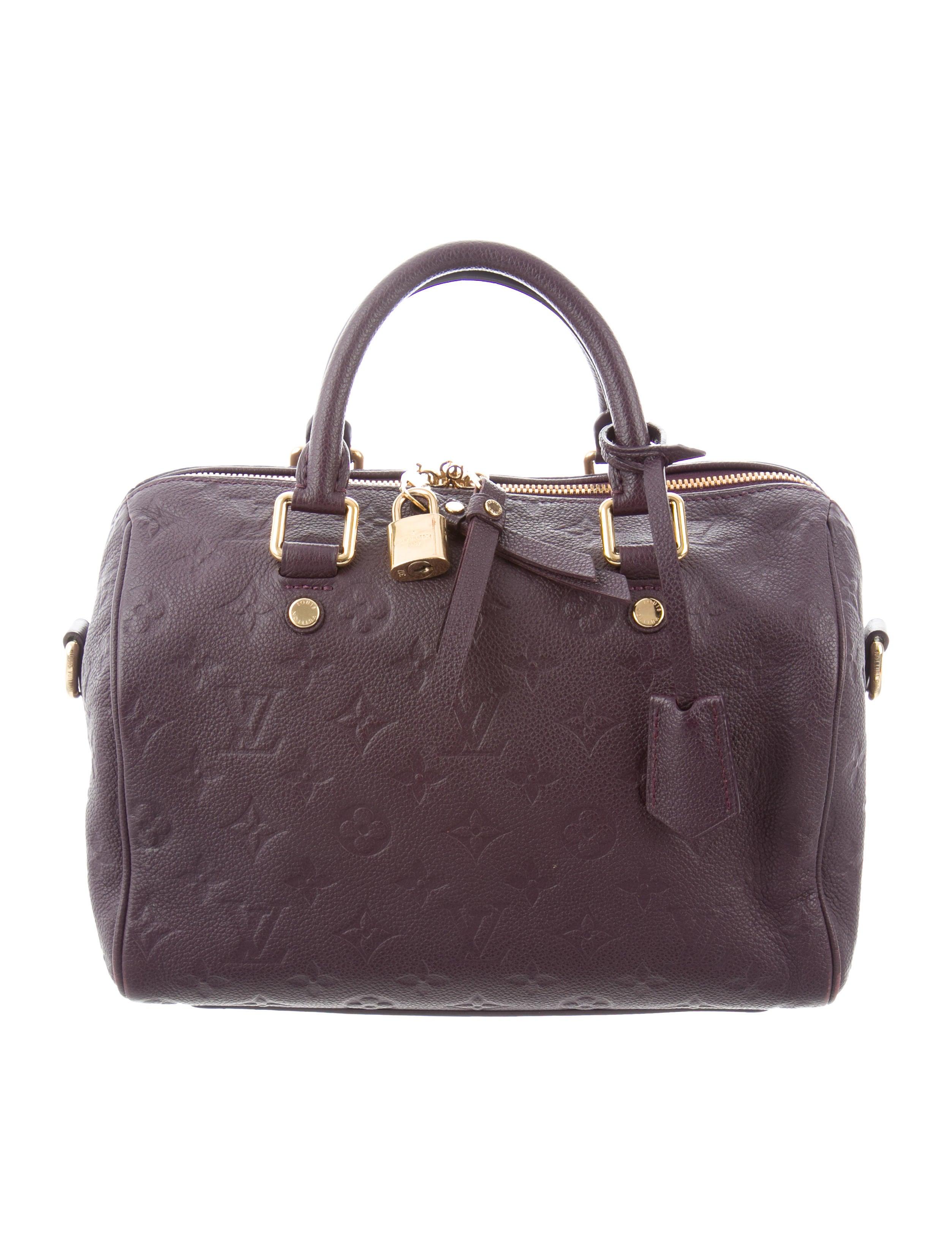 2d19bed47910 Louis Vuitton Empreinte Speedy Bandoulière 25 - Handbags - LOU218410 ...