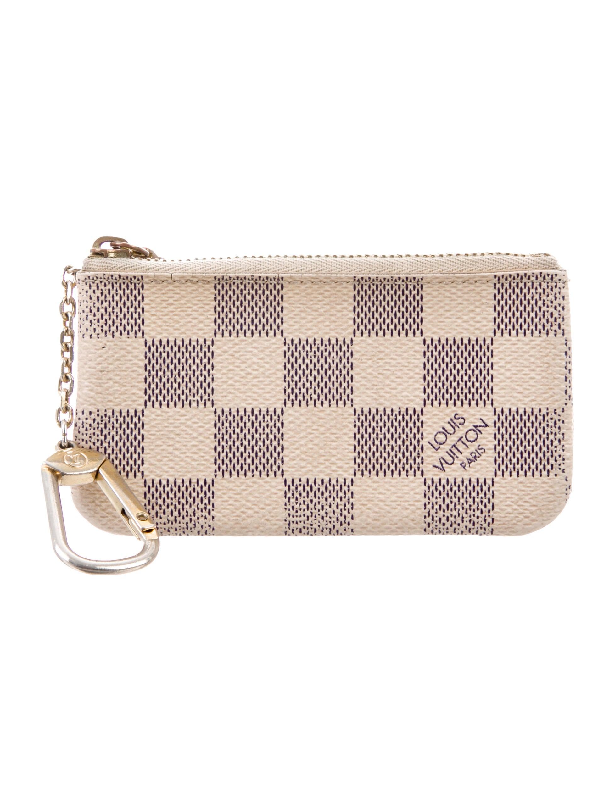 6d2dedcddd44 Louis Vuitton Damier Azur Key Pouch - Accessories - LOU219842