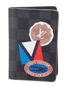 887e28ec4fb50 Louis Vuitton. 2017 LV League Pocket Organizer w  Tags.  425.00 · Louis  Vuitton. Damier Graphite Brazza Wallet
