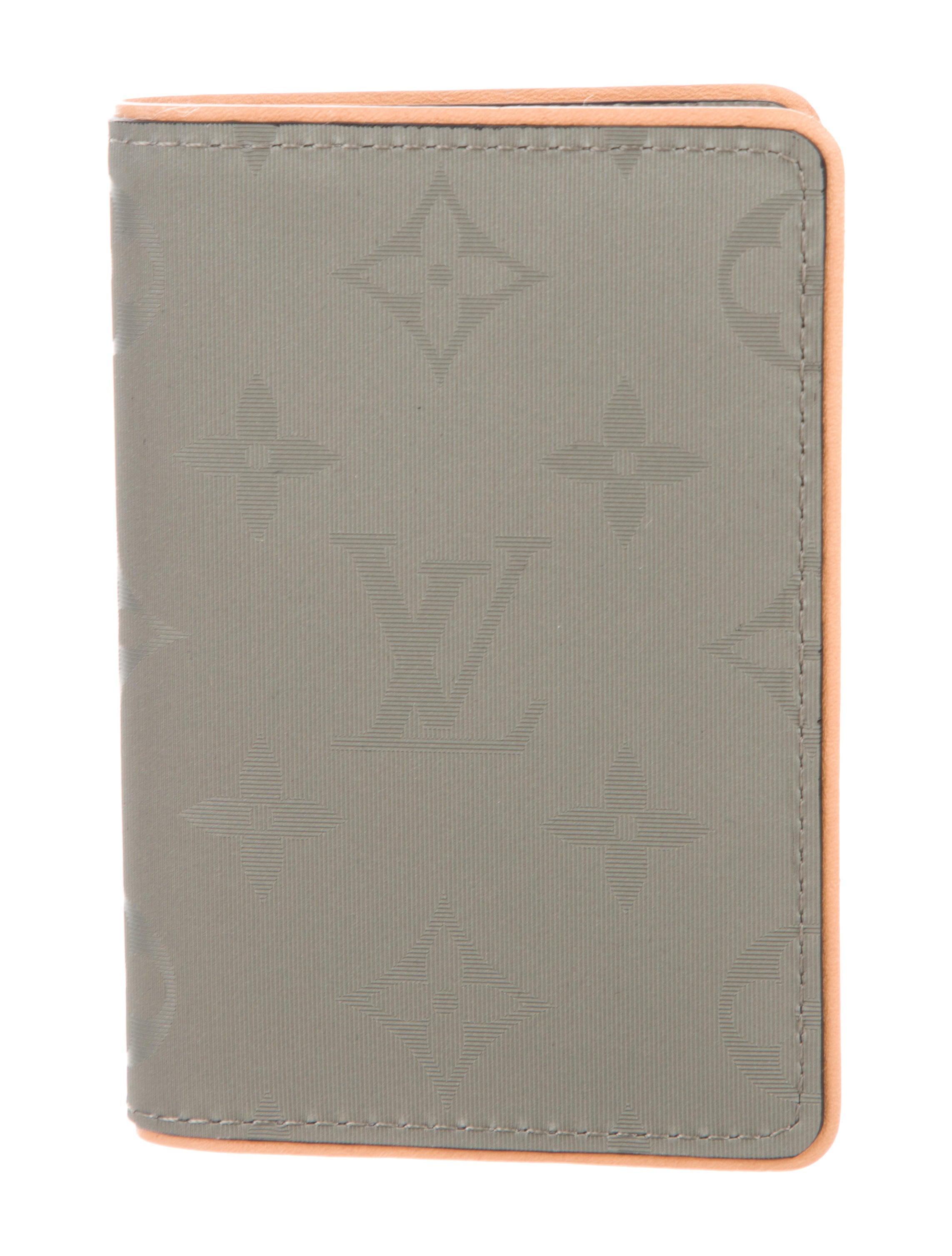 3617f4037c97 Louis Vuitton 2018 Titanium Monogram Pocket Organizer - Accessories ...