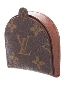 14832099cc50 Louis Vuitton. Leather Monogram Change Purse