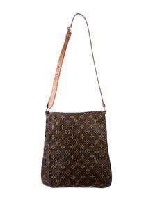 7b935d0f35d8b Louis Vuitton. Monogram Musette Bag