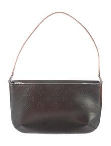 9f2d35f4a179 Louis Vuitton. Monogram Mat Fowler Pochette