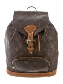 1bcf42905012 Louis Vuitton. Monogram Montsouris MM
