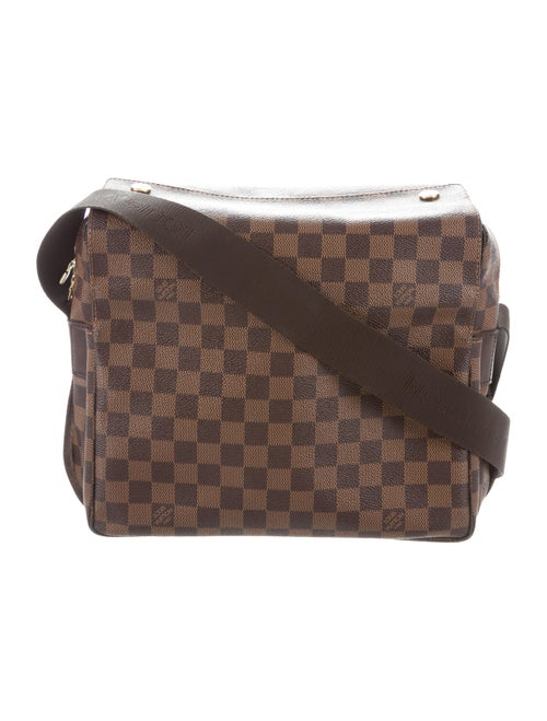 b0e5130bd3e03 Louis Vuitton Damier Ebene Naviglio Messenger Bag - Handbags ...