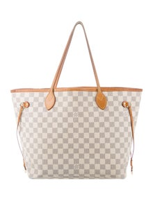 5dc4fc9fc2a5 Louis Vuitton. Damier Azur Neverfull MM