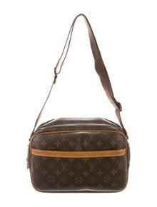 04ca8c9967f Louis Vuitton. Monogram Reporter PM