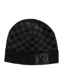 b31779e3598b Louis Vuitton. Petit Damier Wool Beanie