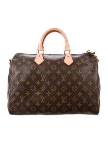 9b74d918351a Louis Vuitton. Monogram Speedy 35 Bandoulière