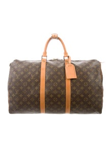 ba994bd1fef Louis Vuitton. Monogram Keepall 50