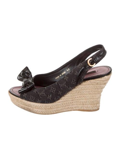 8882d3e433dc Louis Vuitton Idylle Espadrille Wedges - Shoes - LOU222962