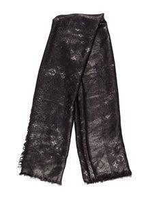 2a920d8d61d Louis Vuitton. Metallic Monogram Shawl