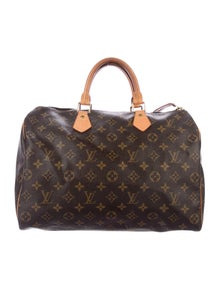 125588d83d73 Louis Vuitton. Monogram Speedy 35
