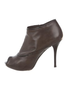 7a94edad7844 Louis Vuitton. Intense Leather Ankle Boots