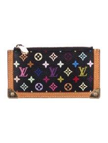 f39a89575789 Louis Vuitton. Multicolore Key Pouch