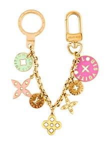 119a6da8eda9 Louis Vuitton. Looping Key Chain Bag Charm