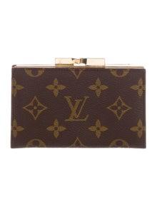 1d556018f92b Louis Vuitton. Monogram French Purse Wallet.  345.00 · Louis Vuitton.  Vintage Monogram Checkbook Cover