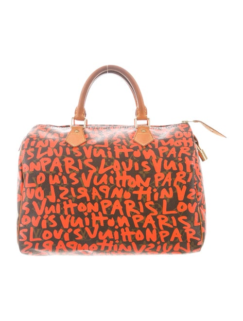 3abaafbefc76 Louis Vuitton Graffiti Speedy 30 - Handbags - LOU224906