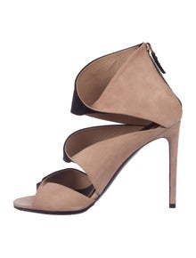 9976dbf64911 Louis Vuitton. Suede Two-Tone Sandals. Size  US ...