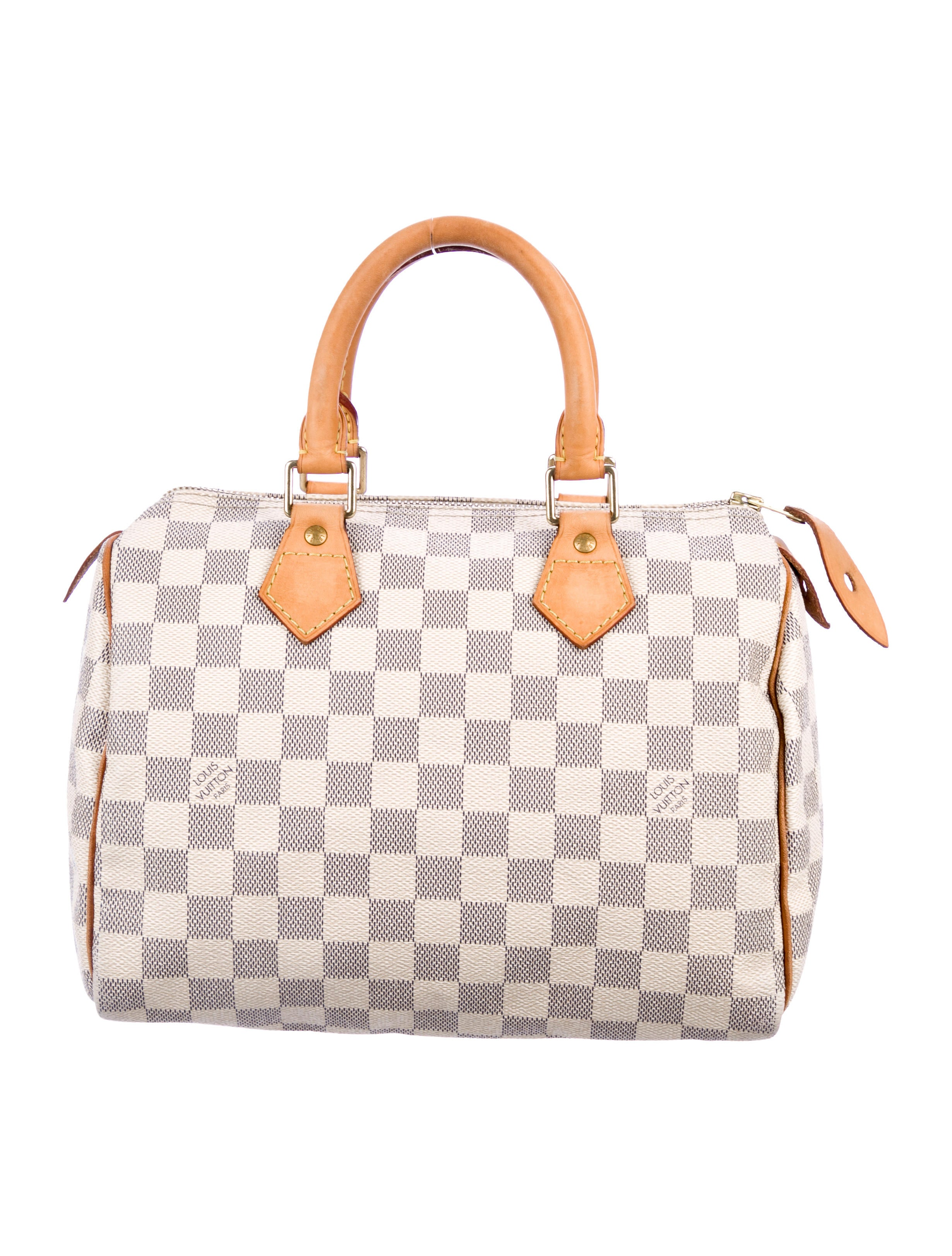 57ea129239f8 Louis Vuitton Damier Azur Speedy 25 - Handbags - LOU226631