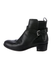 d237ee8b334f Louis Vuitton. Leather Ankle Boots