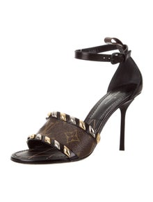 25b6af282836 Leather Platform Sandals. Size  US 8.5