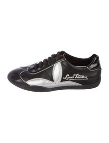 4013bf816084 Louis Vuitton. Leather Low-Top Sneakers