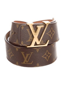 82d957f9eaaf Louis Vuitton. Monogram Initiales 40MM Belt