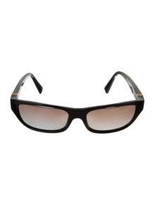b0fb8cdcb46ae Louis Vuitton. Fleur Rectangular Sunglasses