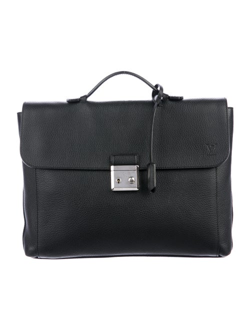 Louis Vuitton Taurillon Serviette Dorian Briefcase